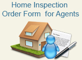 Home inspection order form for agents